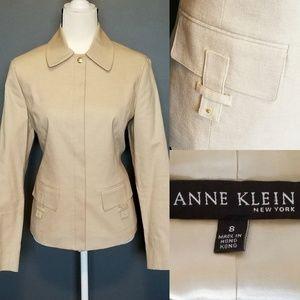 ANNE KLEIN Tan Jacket